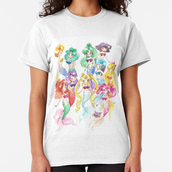 Mer Scouts - Inner and Outer Mer Senshi Classic T-Shirt