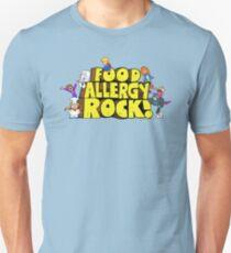 Food Allergy Rock ! T-Shirt