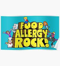 Food Allergy Rock ! Poster
