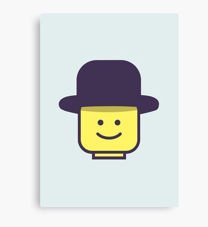 Mr Legoman Canvas Print