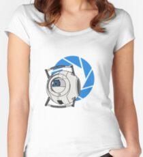 Wheatley! - Portal 2 Women's Fitted Scoop T-Shirt