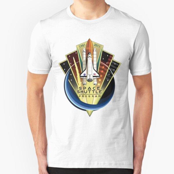 Shuttle Program Commemorative Patch Slim Fit T-Shirt
