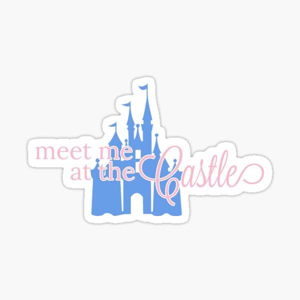 Meet Me at the Castle - Princess Sticker