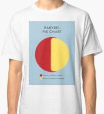 Babybel Pie Chart Classic T-Shirt