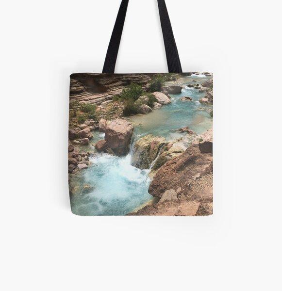 Havasu River All Over Print Tote Bag