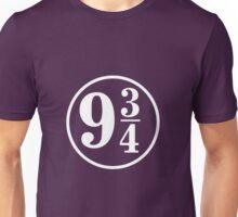 Peron 9 3/4 Harry Potter Unisex T-Shirt