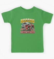 Cartoon Fire Truck Kids Clothes