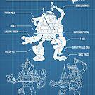 GF - Shack-tron blueprint by Matthew James