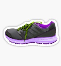 Running Shoe Black Sticker