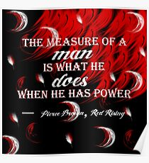 Red Rising - The Measure of a Man Poster