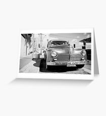 not only in Cuba Greeting Card