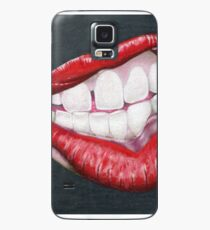 Is She in Mid Thought, or Angry? Case/Skin for Samsung Galaxy