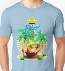 Keep Calm and...Relax on Hammock! Unisex T-Shirt