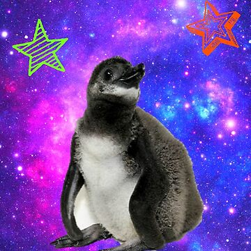 Rufus the Space Penguin by nwnerd