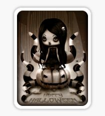 Halloween Doll Sticker