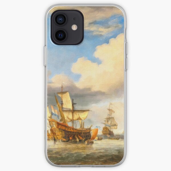 The Four Days' Battle 1666 - the Greatest Sea Fight of the Age of Sail iPhone Soft Case
