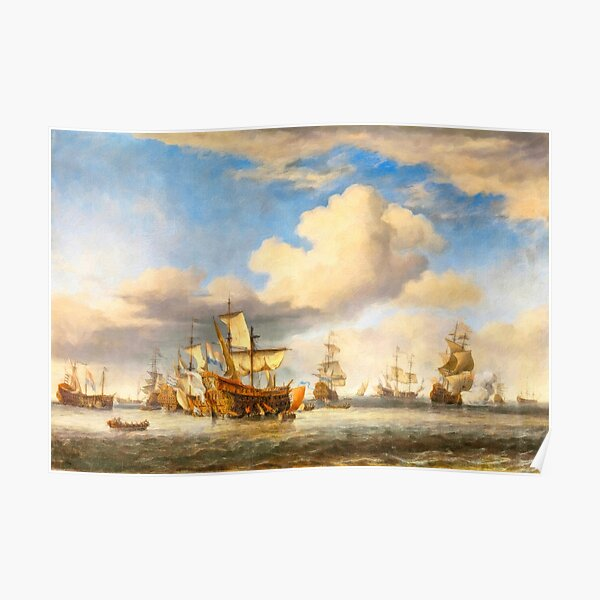 The Four Days' Battle 1666 - the Greatest Sea Fight of the Age of Sail Poster