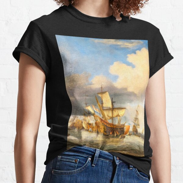 The Four Days' Battle 1666 - the Greatest Sea Fight of the Age of Sail Classic T-Shirt