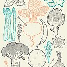 I love vegetables! by smalldrawing