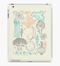 I love vegetables! iPad Case/Skin