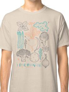 I love vegetables! Classic T-Shirt