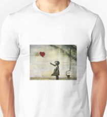 Banksy's Girl with a Red Balloon Unisex T-Shirt