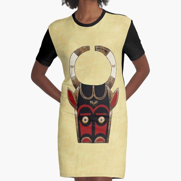 Minotaur Graphic T-Shirt Dress