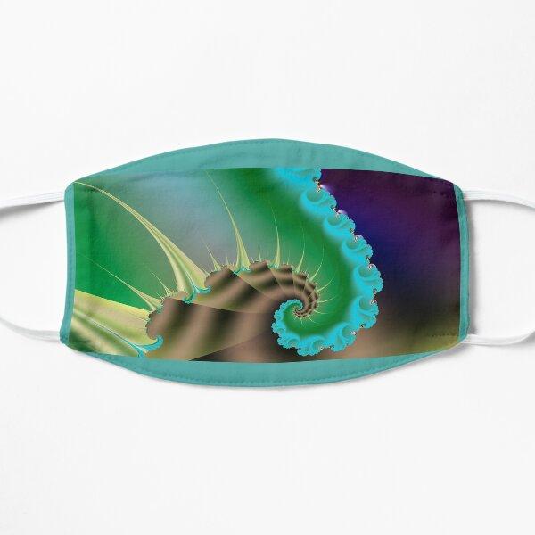 Aqua Snail Flat Mask