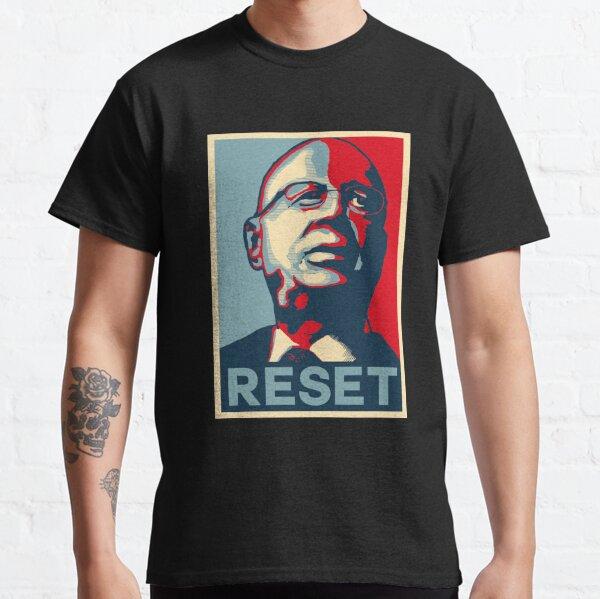 Klaus Schwab Réinitialiser T-shirt classique