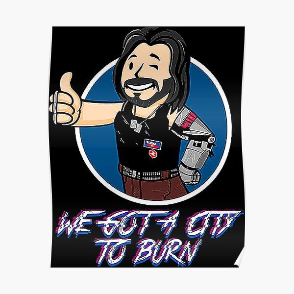 Cyberpunk 2077 Shirt Poster