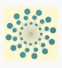 Circles - 8 Photographic Print