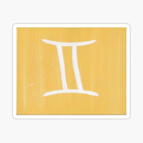 Gemini Symbol  Sticker