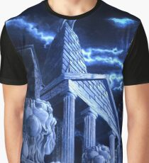 Temple of Hercules in Kassel Graphic T-Shirt