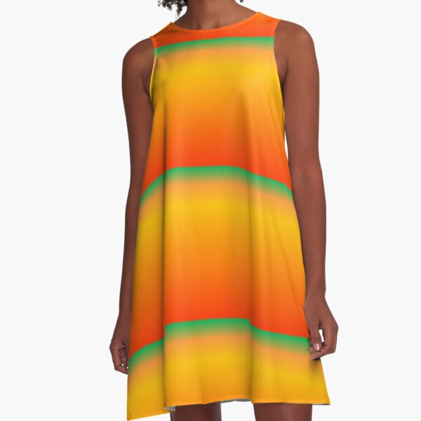 Tropical Sunlight A-Line Dress