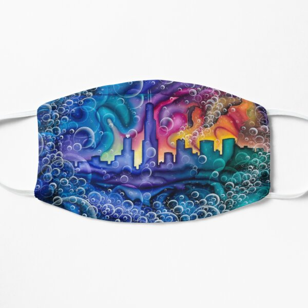 Chicago Bubble Experience Flat Mask
