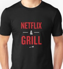 0afd640a Netflix and Grill Slim Fit T-Shirt