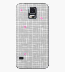 Carreaux - Grey/Pink - Bis Case/Skin for Samsung Galaxy