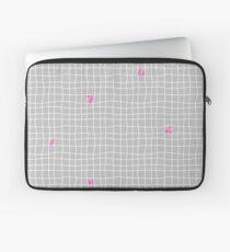 Carreaux - Grey/Pink - Bis Laptop Sleeve