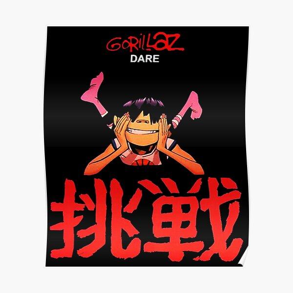 gorilaz-dare Poster