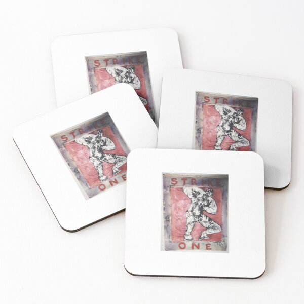 Strike One Coasters (Set of 4)