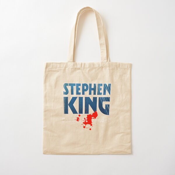 Stephen King Constant Reader Cotton Tote Bag
