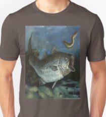 Striped Bass Chasing an Eel T-Shirt