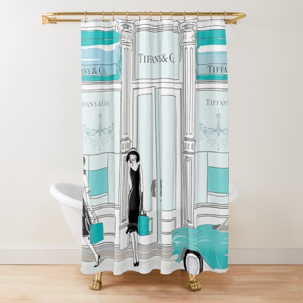 Trending - Tiffany & co Shower Curtain