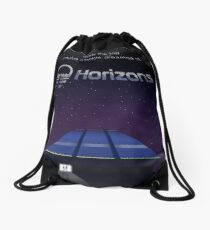 Horizons from EPCOT Center (with Text) Drawstring Bag