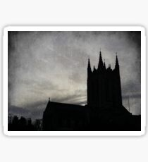 Gothic church Sticker