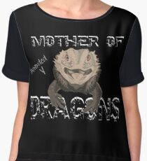 Mother of Bearded Dragons Chiffon Top