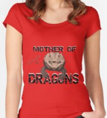 Mother of Bearded Dragons Women's Fitted Scoop T-Shirt