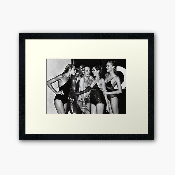 Jerry Hall Framed Art Print
