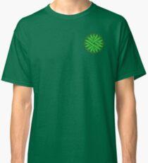 Green Flower Ribbon Classic T-Shirt