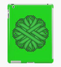 Green Flower Ribbon iPad Case/Skin